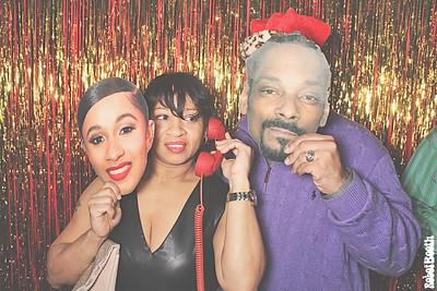 12-23-18 Atlanta The Pool Hall Photo Booth - Kolwicz Christmas Party - Robot Booth