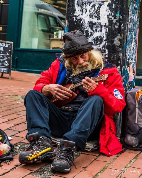 A Street Entertainer