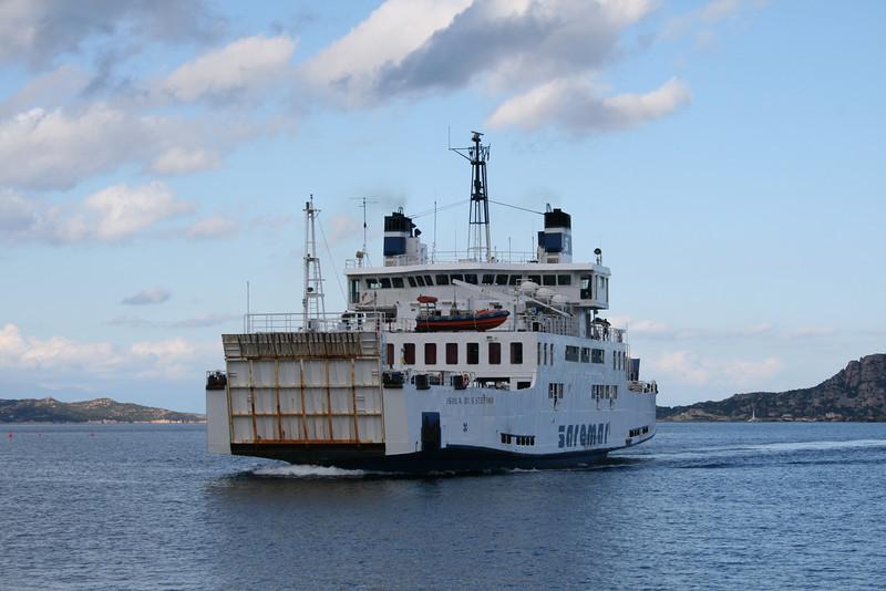 2008 - F/B ISOLA DI S.STEFANO arriving to Palau from La Maddalena.