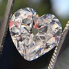 3.47ct Antique Heart Shaped Diamond GIA F SI2 16
