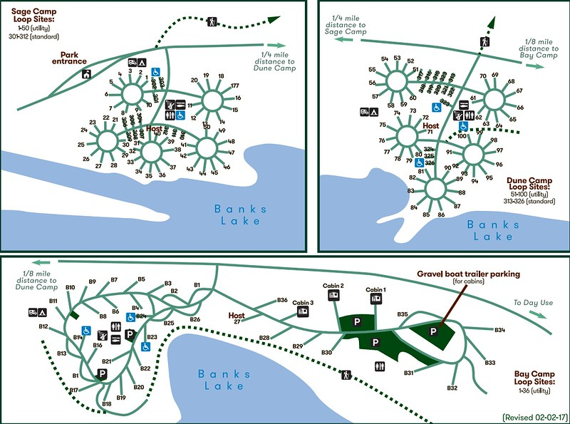 Steamboat Rock State Park (Campground Maps)