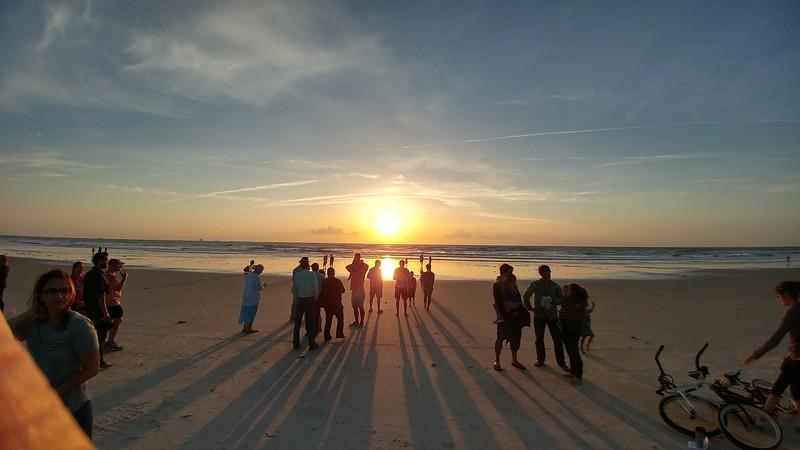 Beaches Vineyard Easter sunrise service, 2017
