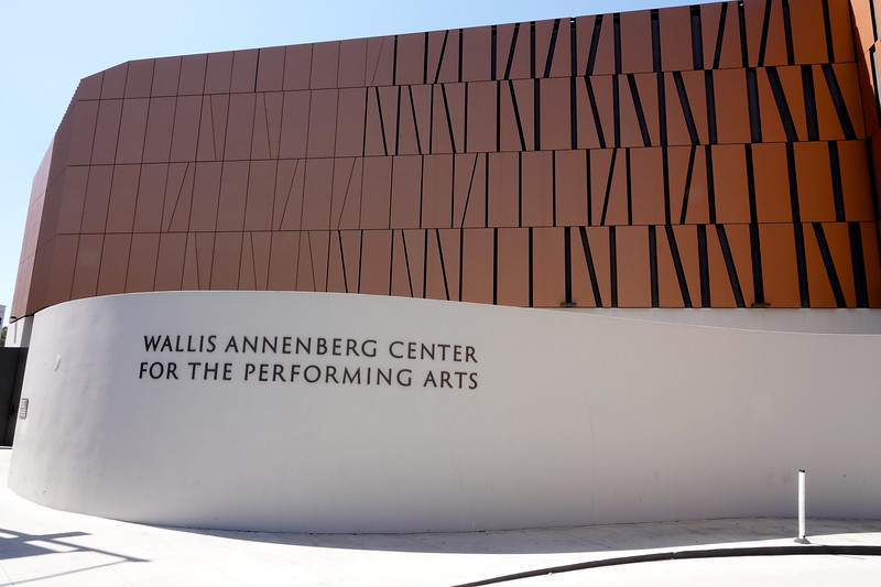 A former Beverly Hills post office is now a major new performing arts center