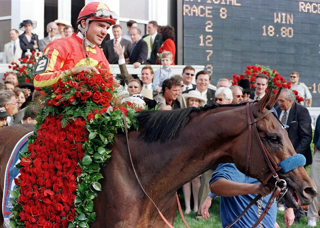 . <p>34. HORSES <p>An irreplaceable part of racing�s Triple Crown, and the lasagna at Swedish Walmarts.   (Robert Sullivan/AFP/Getty Images)