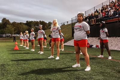 2012 Football Cheerleading