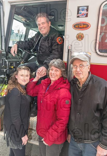 Westfield Fireman Jim Johnson Retires March 16, 2018