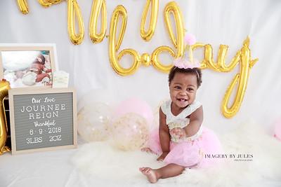Journee Reign's First Birthday