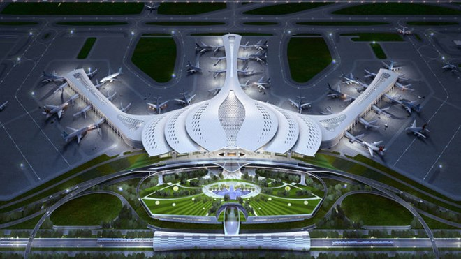 Lotus-inspired design chosen for Long Thanh Airport