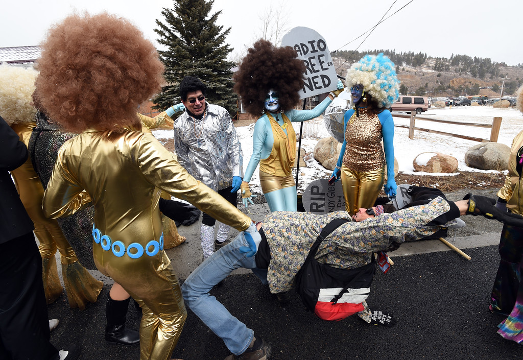 . The Solid Cold Dancers pulled out all the stops  on Saturday during 2018 Frozen Dead Guy Days in Nederland. The festival continues on Sunday. For more photos, go to dailycamera.com. Cliff Grassmick  Photographer  March 10, 2018