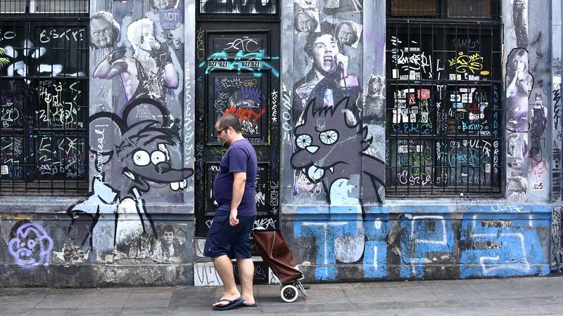 Santiago de Chile - Itchy & Scratchy
