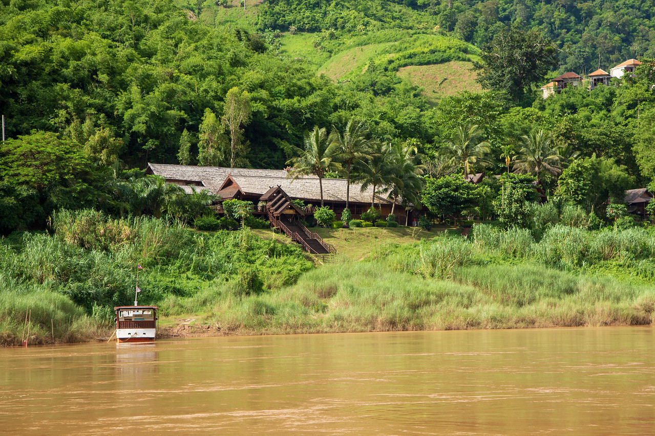 LuangSay Lodge on the Mekong River in Pakbeng, Laos