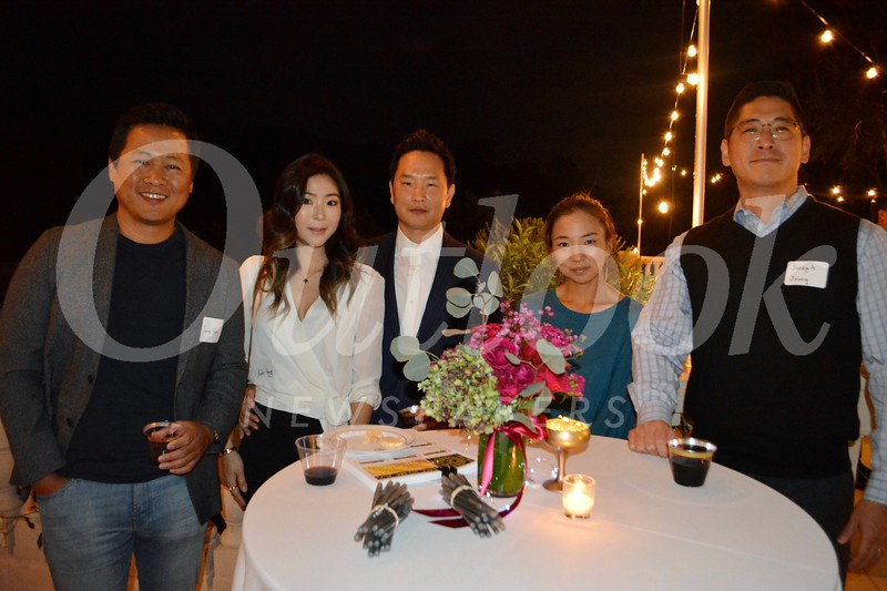 James Han, Kate and Alex Hong, Hye Sung Choe and Joseph Jeong