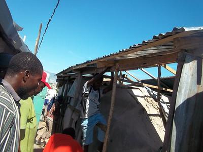 2012-11-30 Haiti Tent Repairs Made Because of Donors of LCC