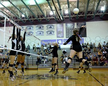 Volleyball: Dominion vs. Potomac Falls 9.11.14