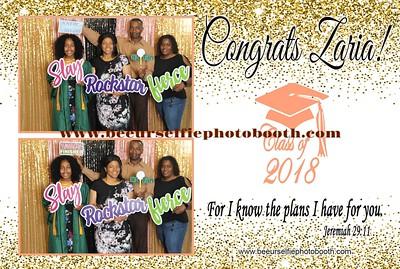 Zaria's High Graduation Bash