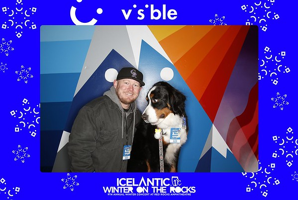 Visible Booth @ Icelantic's Winter on the Rocks   01.31.20