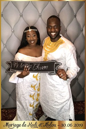 Kadi et Abdou Mariage