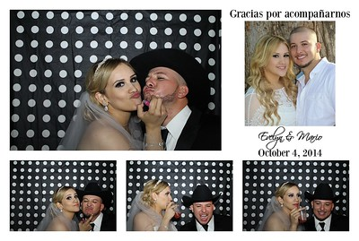 Evelyn & Mario's PhotoBooth