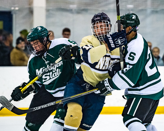 2016-12-02 NAVY Hockey vs Michigan State