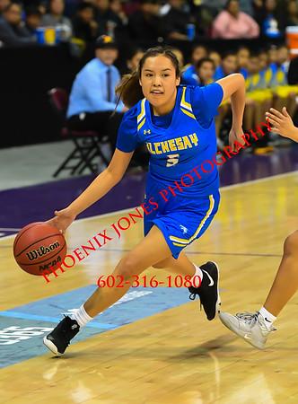 2-22-2020 - Alchesay v Valley (Sanders) Girls Basketball AIA 2A Quarterfinal
