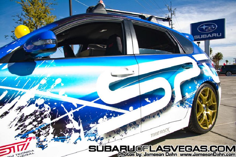 North American Festival of Speed to host Subie Jam 2011