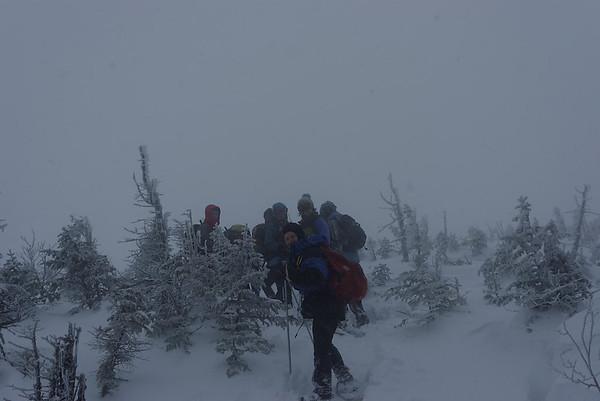 Mont Algonquin (14 au 16 mars 2014)