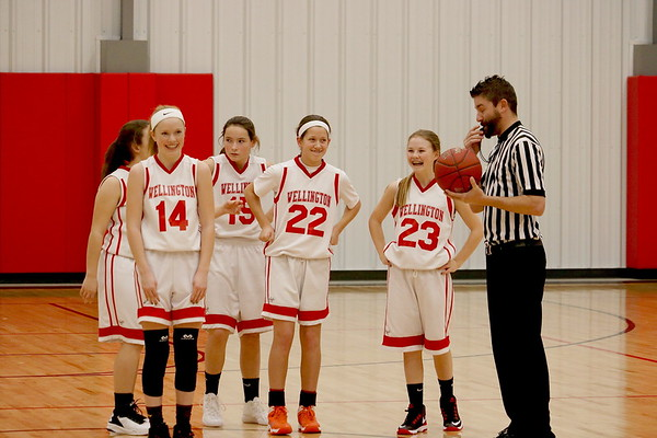 WMS Girls Basketball vs Winfield HERE 010517
