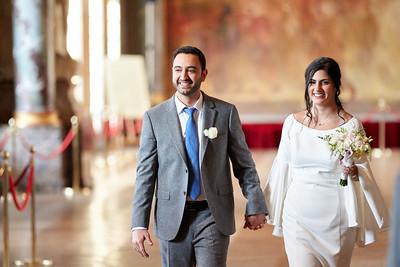 Aliza & Avy - mariage civil
