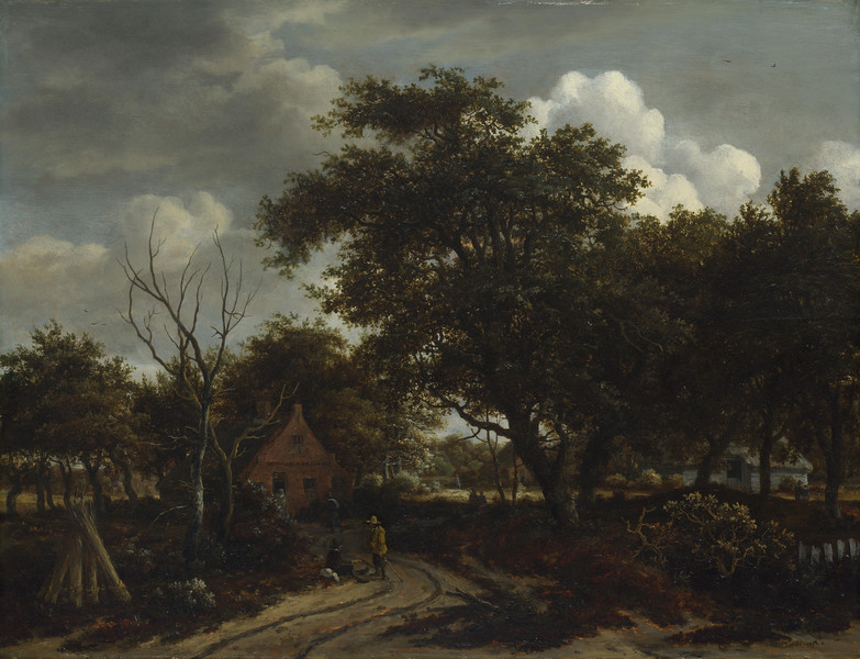 Cottages in a Wood