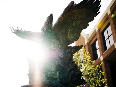 2018 Eagle Statue