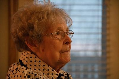 2020 02 15:  Door County, Wisconsin, Loraine's 94th birthday