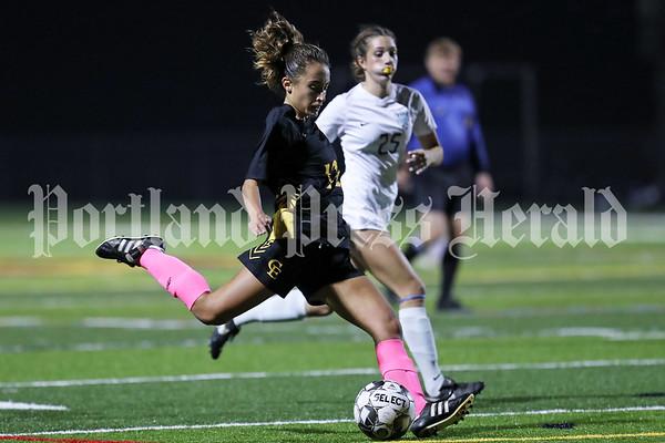 Girls' soccer: York at Cape