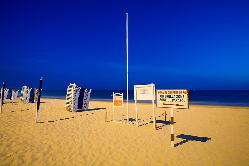Peneco beach, town of Albufeira, district of Faro, region of Algarve, Portugal