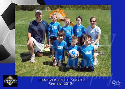 Spring 12 Soccer Teams
