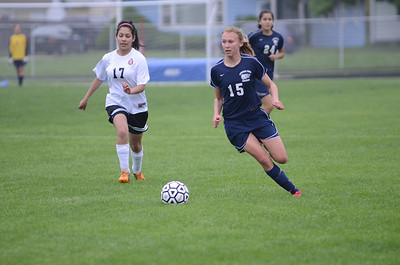 Oswego East Varsity girls soccer Vs East Aurora 2012