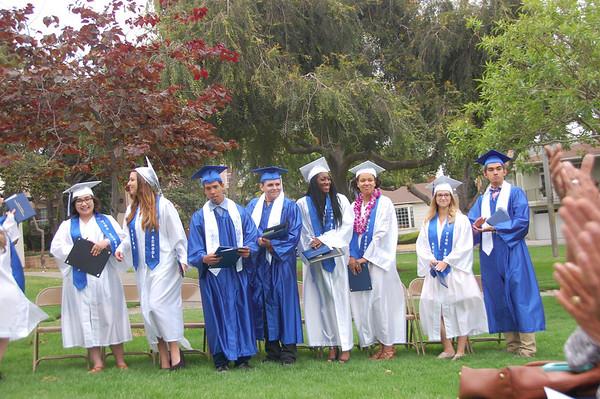 Arena High Graduation 2014