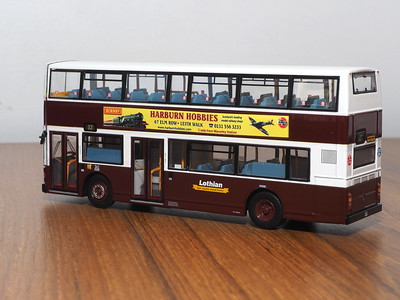 CMNL UKBUS0031 Lothian Buses Volvo Olympian Alexander Royale 262 route 12 to Leith Links