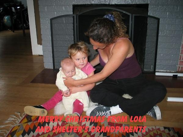 Lola, Shelter & Mom II Sept.JPG