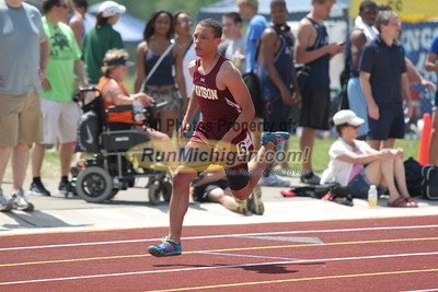 D1 Boys' 400 Meter Finals - 2014 MHSAA LP T&F Finals