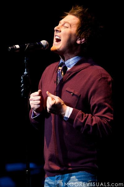 Clay Aiken performs on February 12, 2011 at Van Wezel Performing Arts Hall in Sarasota, Florida