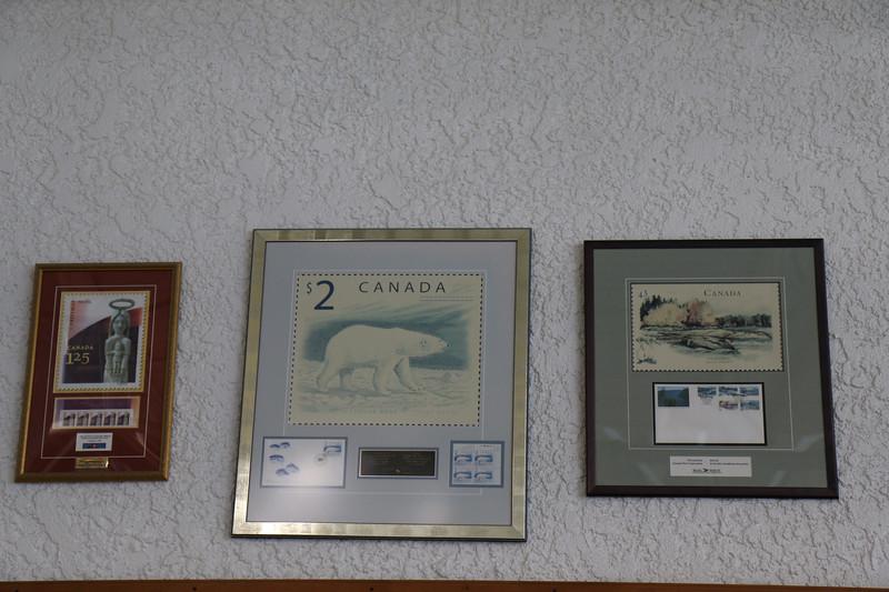 Stamp display