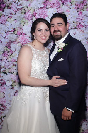 Jessica and Mike's Mirror Booth Wedding 2019