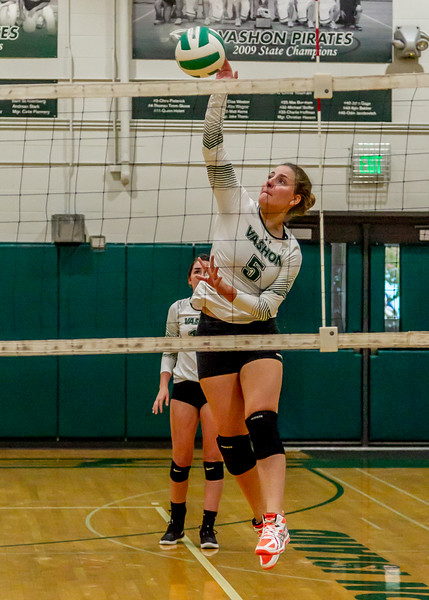 Vashon Island High School Varsity Volleyball v Chimacum 09/20/2018