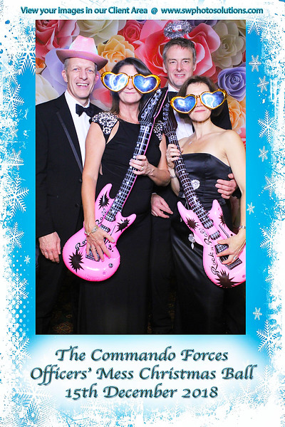Commando Forces Officers Mess Xmas Ball 2018