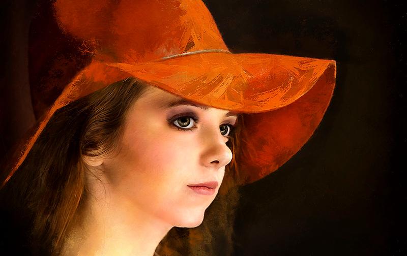 Stella in and Orange Hat.jpg