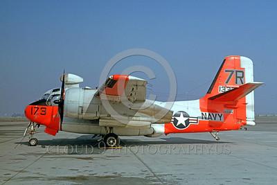 U.S. Navy Grumman S-2 Tracker ASW Day-Glow Color Scheme Military Airplane Pictures