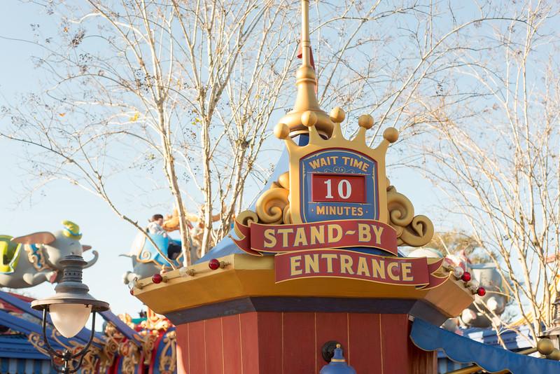 Dumbo Short Wait - Magic Kingdom Walt Disney World