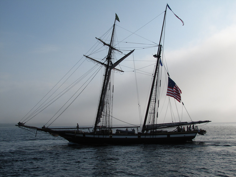 Lynx is a square topsail schooner based in Newport Beach, California. She is an interpretation of an American letter of marque vessel of the same name from 1812