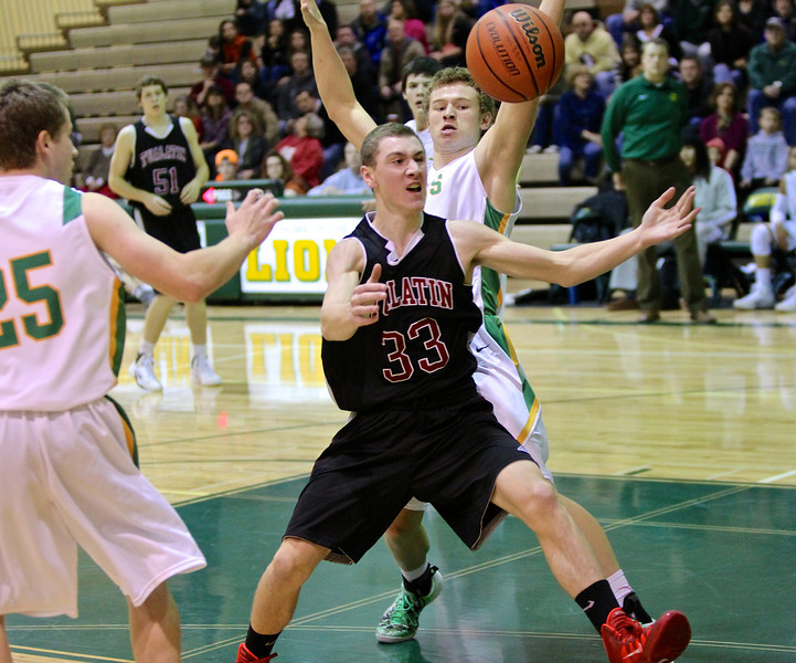 West Linn vs Tualatin December 10, 2013