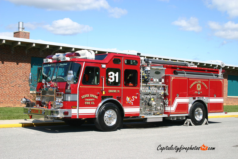 Silver Spring Engine 31: 2005 E-One Typhoon 2000 /1000/40/40